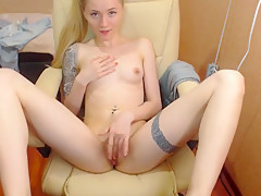 Beautiful Russian Teen Solo Blonde