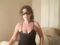 Solo orgasm with my magic wand