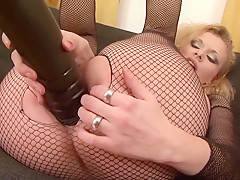 Ass Hole Too Small Two Black Cocks Craving Double Anal