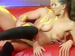 Extreme Pornshow On Public Sex Fair Stage