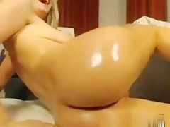 Live Blonde With Perfect Body