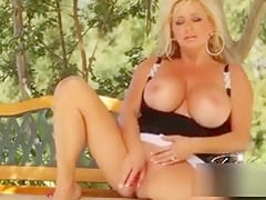 Sexy Blonde Milf With Huge Big
