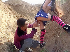Fuck the Chinese country girl