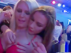 Hot Sweeties Get Fully Mad And Undressed At Hardcore Party