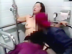amateur housewife make love with anyone at public toilet