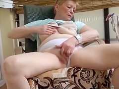 Old granny hot masturbation