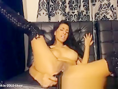 Busty Hottie Toys Her Tight Pussy