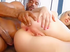 Hot Pornstar Anal With Swallow