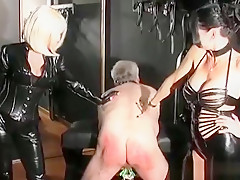 Slave Gets His Ass Fisted And Penis Pumped By Nasty Mistress