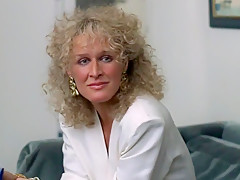 Celebrity Glenn Close can't get enough Cock in Fatal Attraction (1987)