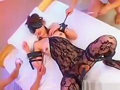 Japanese Amateur Asuka Wet Pussy Tickling Trampy Gal Is