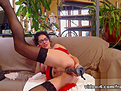 Livecam Multiple Fluids For Messy Fun - KinkyFrenchies
