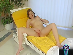 Katalin's Delicious Tits And Wet Slit