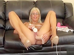 Buxom Blonde Puma Swede Gets Involved In A Frenzy Of Toys And Orgasms