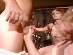 Handsome young whore in group sex porn video