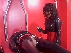 rubber glove tease and denial