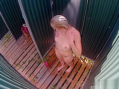 Czech MILF Spied in Shower