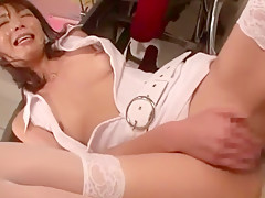 Crazy Japanese whore in Fabulous Nurse, Amateur JAV scene