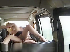 Beautiful Amateur Blonde Passenger Screwed At London Cab