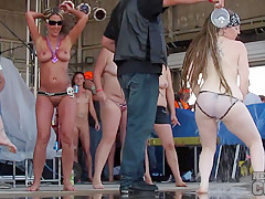 Abate 2013 Cougar and Badass Milf Wet Tshirt Contest at Iowa Biker Rally - NebraskaCoeds
