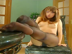 Pantythose in Masturbation