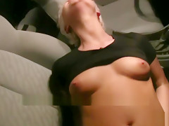 PublicAgent Blonde Czech Babe Fucks on Street for Money