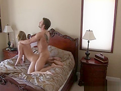 Blonde Cheater Caught Getting Pounded On Hidden Camera