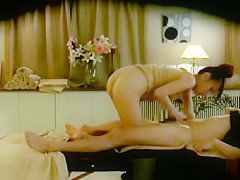 College Girl reluctant orgasm by Masseur