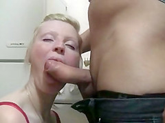 Beautiful housewife gets roughly banged by a stranger