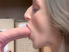 LP Officer makes Kenzi Ryans ride his schlong and bounce her pussy!