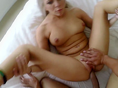 Pickedup euro gets her tight cunt plowed POV