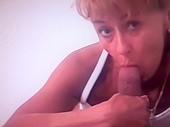 Dick sucking on hidden camera!