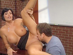 Foxy Milf Teacher Gives Student A Good Lesson