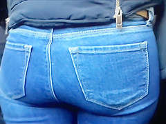4 different turkish women's ass in a video