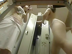 asian changing room pantys