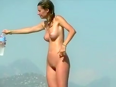 French nudist babe has a breathtaking figure