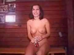 Naked Girl in a Public Bar