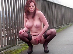 Exhibitionist Housewifes Public Flashing
