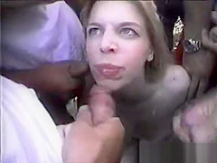 Pretty Blonde In Great Blowbang