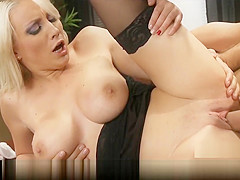 Brazzers - Busty bombshell Lexi Swallow seduces her boss