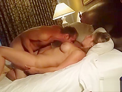 Generous Guy Lets Pal Fuck His Girlfriend While He Watches