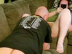 Hairy Redhead Slut Pussy Eaten and Doesn't Care (Part 1)