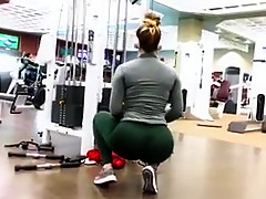 Best ass at gym ever