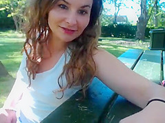 Latina Fuck in Public Park with Stranger