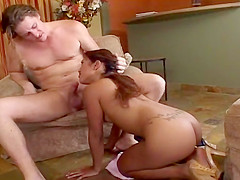 Exotic Asian Takes It Up The Ass