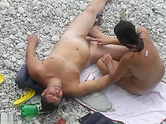 Beach Nudist Outdoor Fun