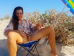 Sexy Girl HOT ADVENTURE at Seaside CAMPING