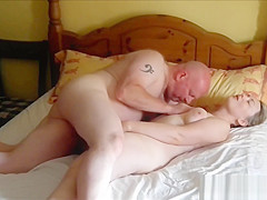 32yo British Ex-GF fucks me after a night with her new BF