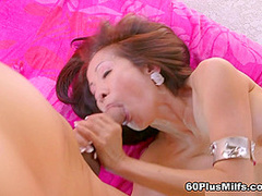 Hot For Cocks In Her Ass - Kim Anh, Rocky, And Tony D'sergio - 60PlusMilfs