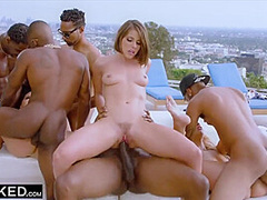 Vicki Chase, Teanna Trump And Adriana Chechik In Hot Orgy With And